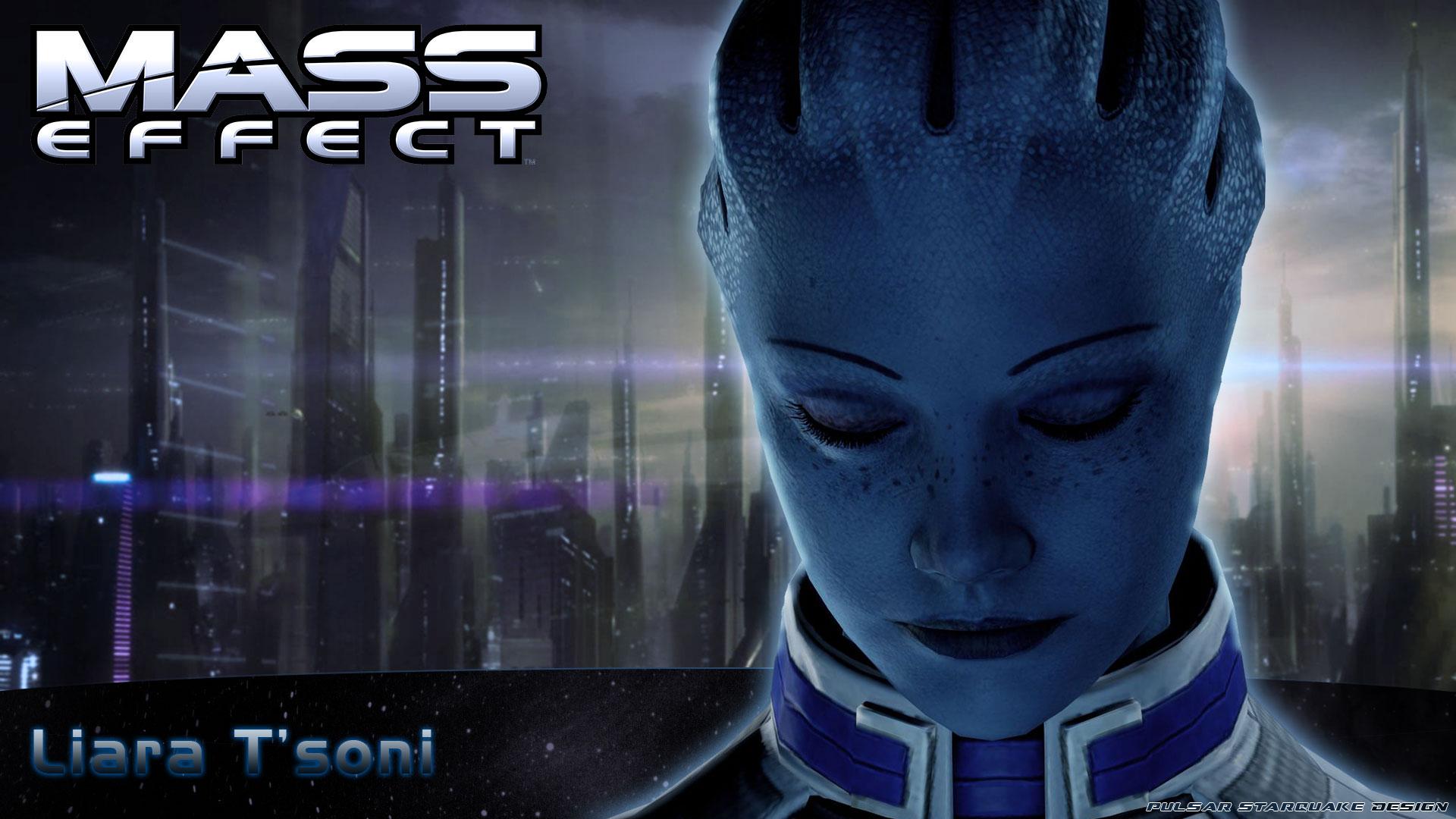 Mass Effect Liara Wallpaper