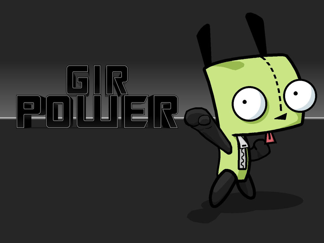 gir wallpaper by irken invaders on deviantart