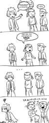 Comic shenanigans 001 by TaroNuke