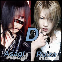 Asagi and Ruiza D Band by kazesabaku