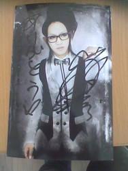Pinky's autograph by kazesabaku