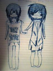 My drawing by kazesabaku
