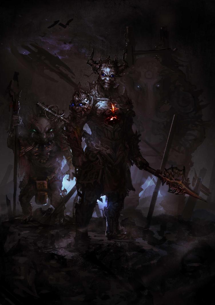 war of demon world by MTORANGE