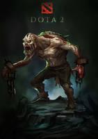 ghoul of dota by MTORANGE