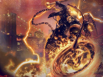 Ghost Rider wallpaper by Paulinos