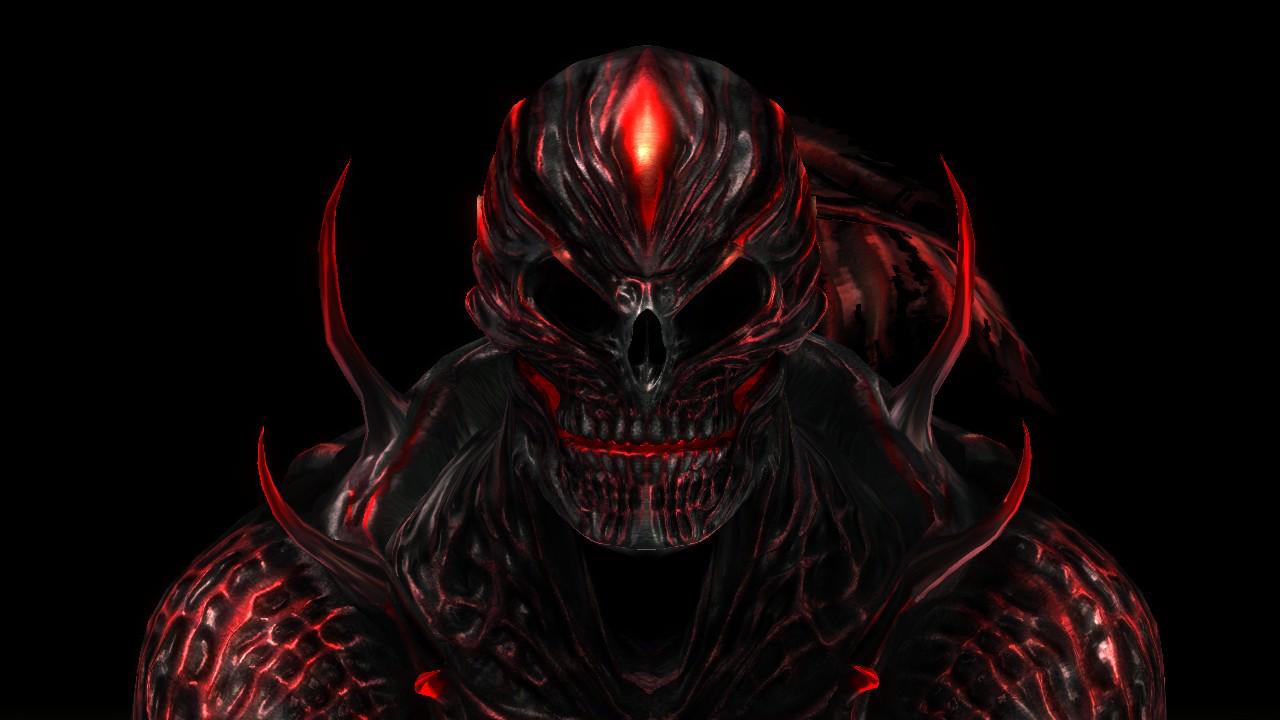 Demonic portrait by verasoul on deviantart for Domon pictures