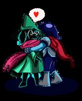 Hug Ralsei by McwitherzBerry