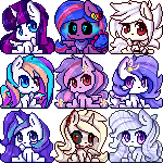 Pixel Icon Commissions by TogeticIsa