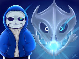 [Undertale] - Just another Sans by CrowlKitsune