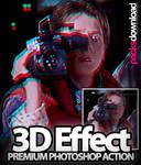 3D Retro Effect Premium Action