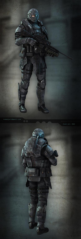 infantryman by iRj