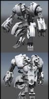 robot construction shot