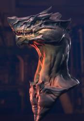 Dragon Render Eevee 02