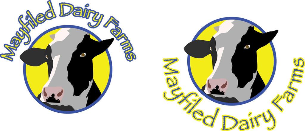 Dairy Farm Logo Design 2 By Wolf DX