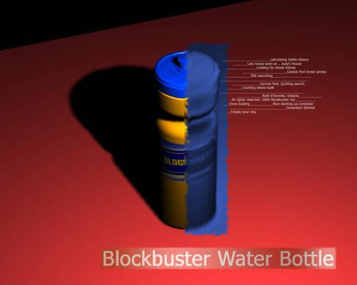 Blockbuster Water Bottle v5