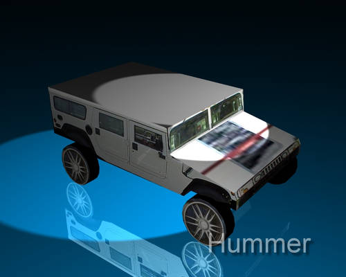 first vehicle - Hummer