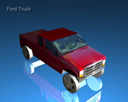 second vehicle - Truck