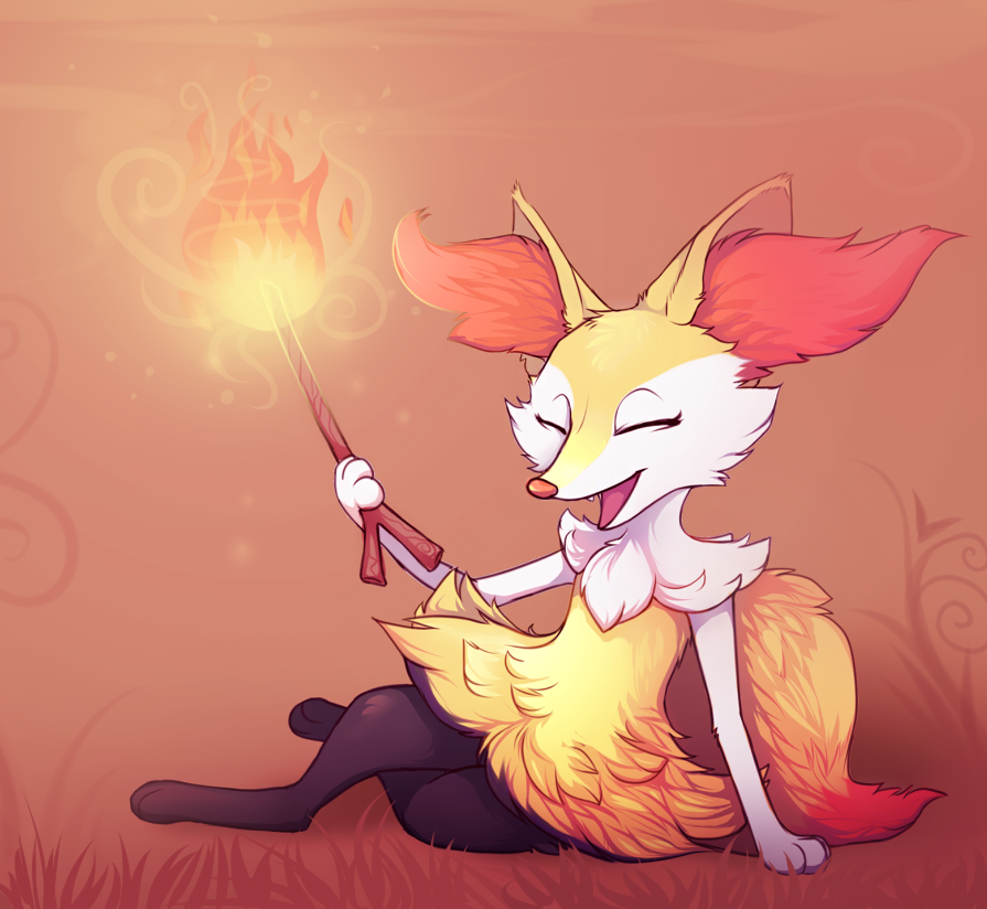 Braixen by possim