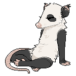 lil pandapossum pixel by possim