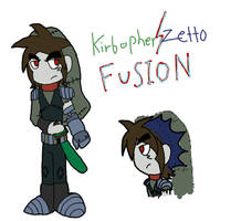 Kirbopher+Zetto FUSION by firehedgefairy13