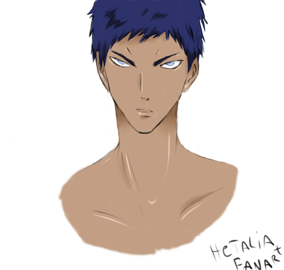 aomine daiki by hetaliafanart on deviantart