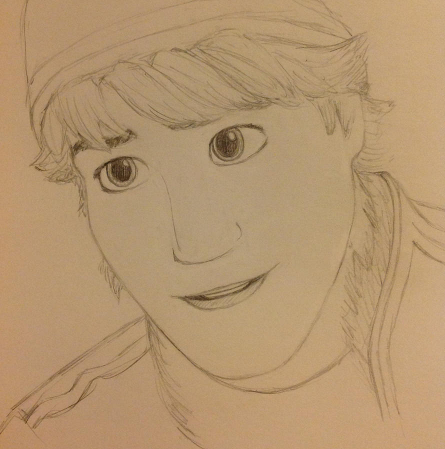 how to draw kristoff from frozen