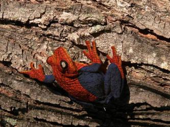 Spiderfrog Returns by podgorski