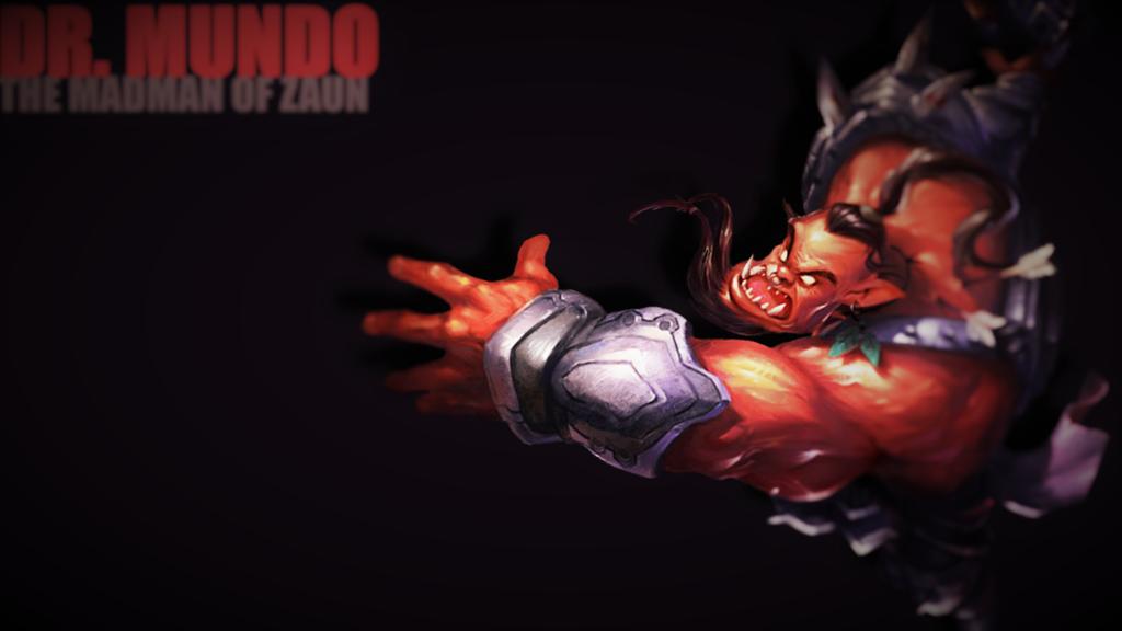 Rageborn Dr. Mundo by Marian027