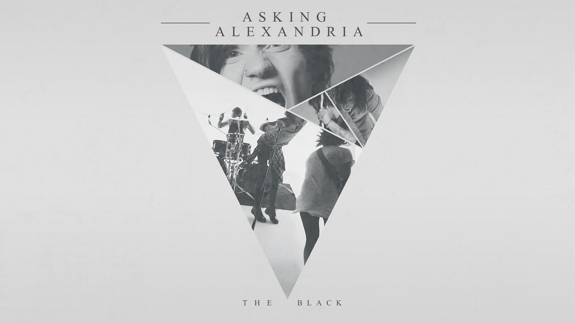 Asking Alexandria The Black Wall by thepariah6 on DeviantArt: thepariah6.deviantart.com/art/Asking-Alexandria-The-Black-Wall...