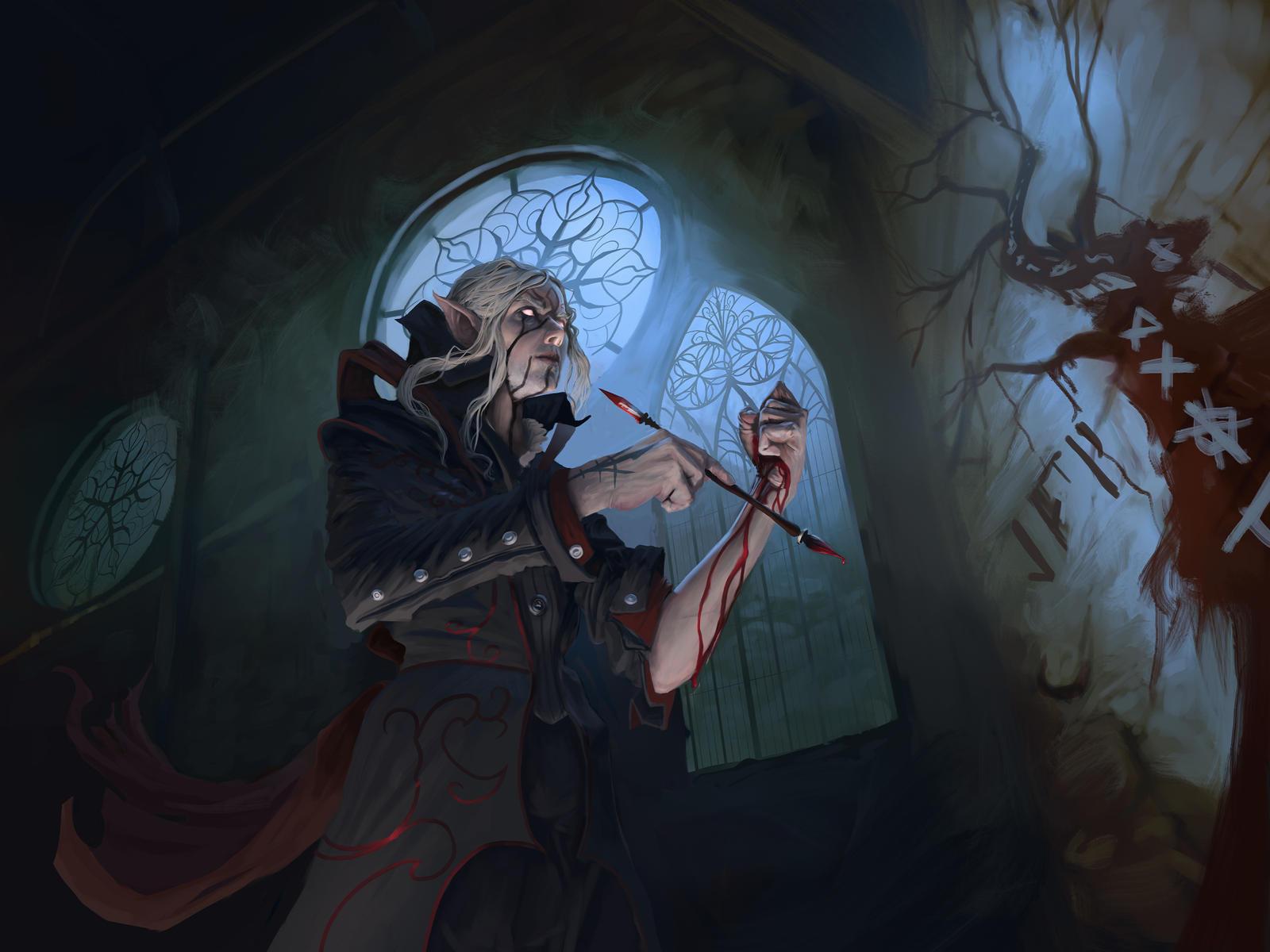 Artist Avatar Challenge: Blood Cathedral