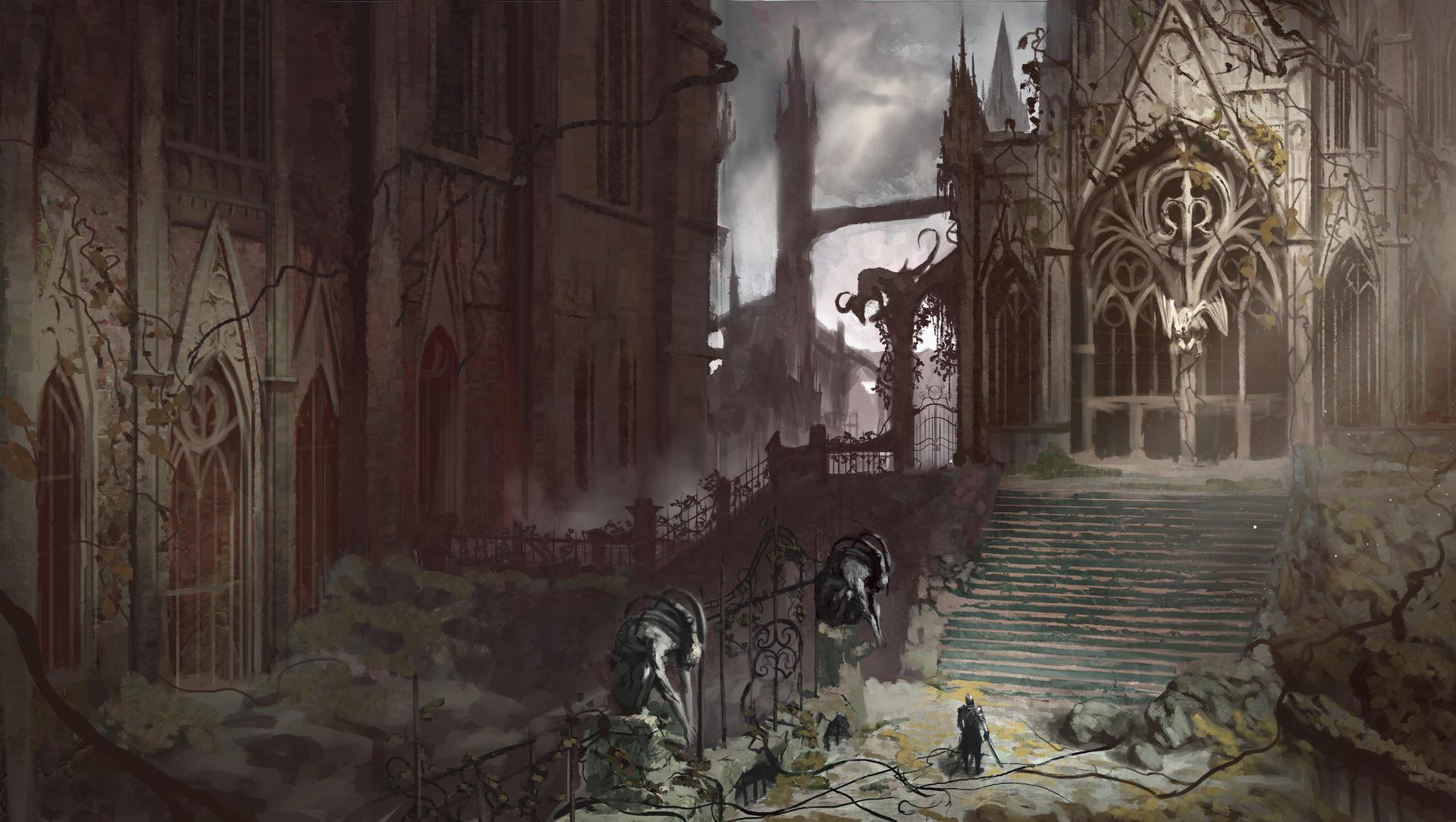 Gothic environment design