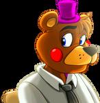 Rockstar Freddy in Toy Chica's Highschool years