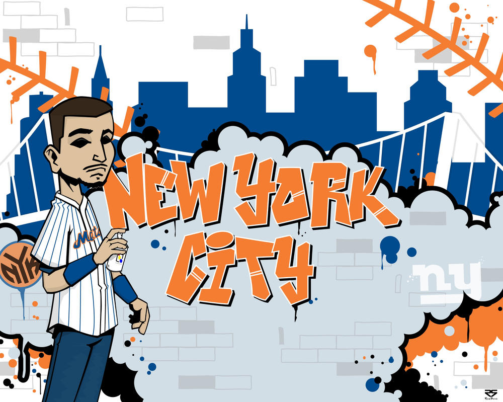 nyc wall mural by rs267 on deviantart very nice giant new york skyline empire state building