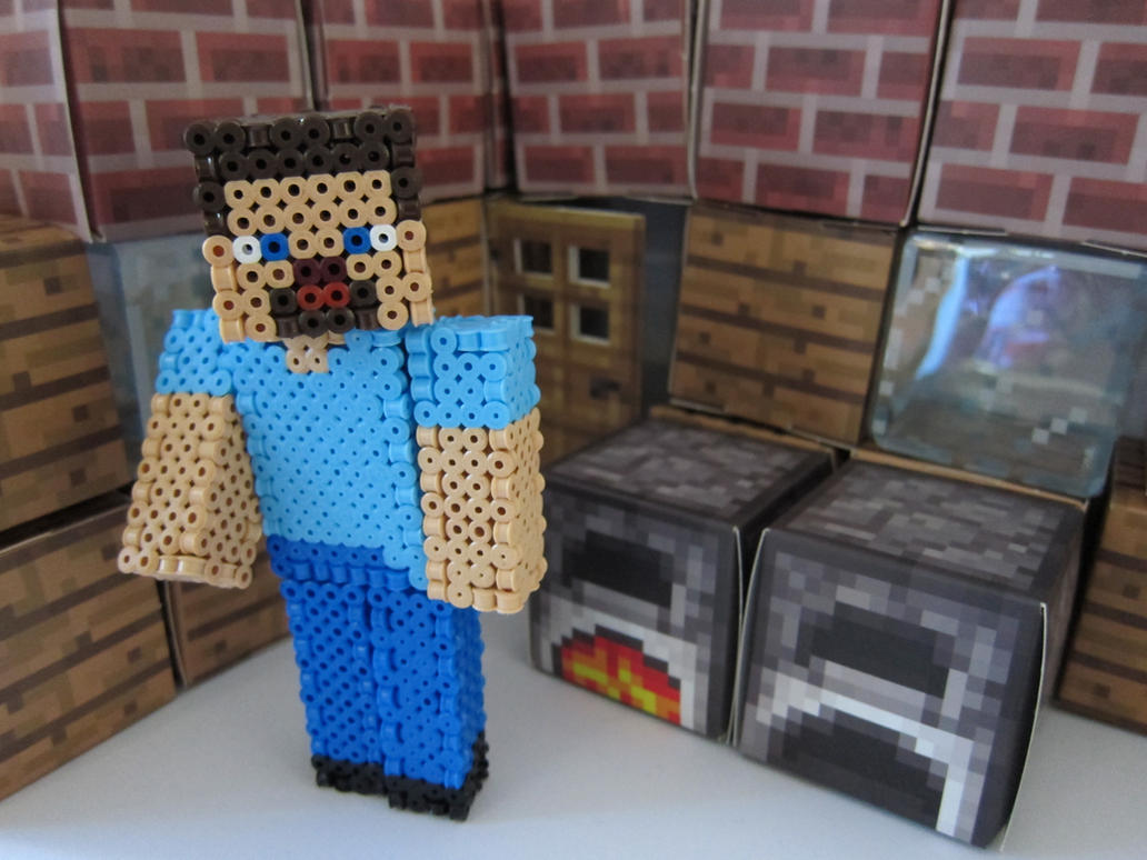 Minecraft Perler Beads Steve Images Free Download