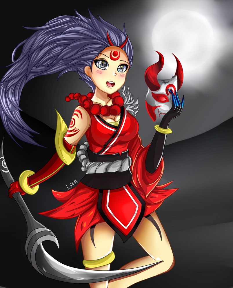 Blood Moon Diana ~ [League of Legends] by LarraLy