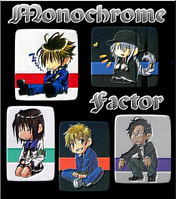 Monochrome Factor, My AntiDrug