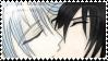 :: MF Stamp :: ShiroAki Kiss 2 by Yami-Kaira
