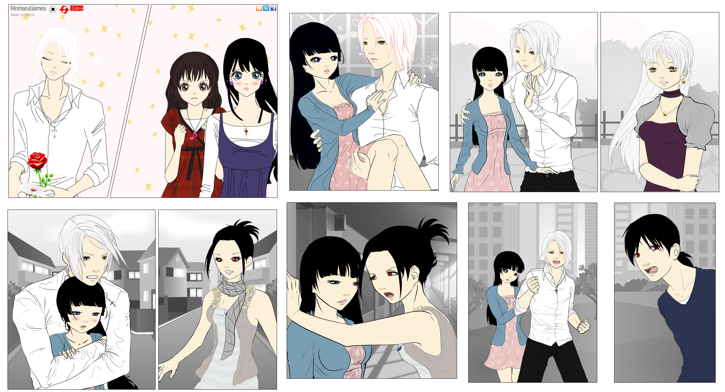 Manga Maker Collage - VollxEly by Yami-Kaira on DeviantArt