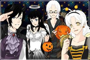 - Manga Creator: Halloween Special - by Yami-Kaira