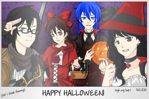 - Manga Creator - Halloween Special by Yami-Kaira