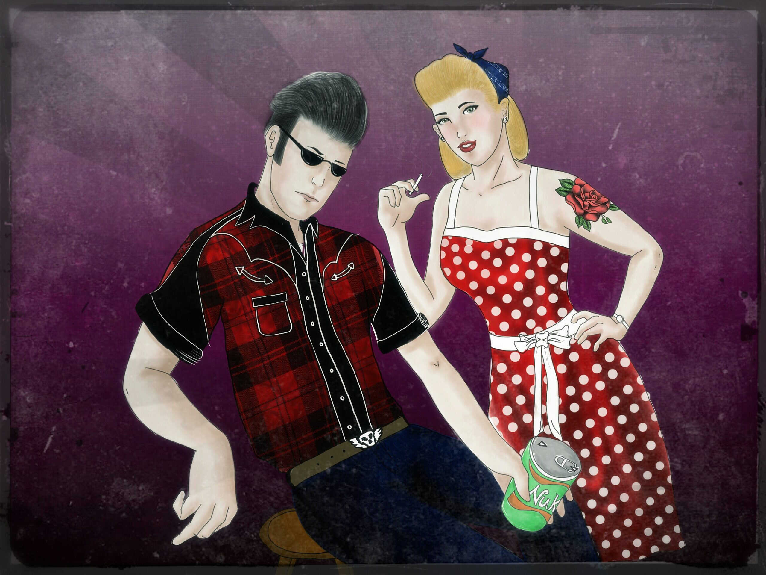 Rockabilly couple by camiloz182 on DeviantArt