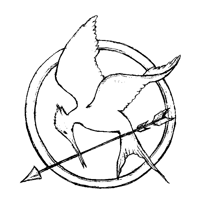 Mockingjay Printable Coloring Pages