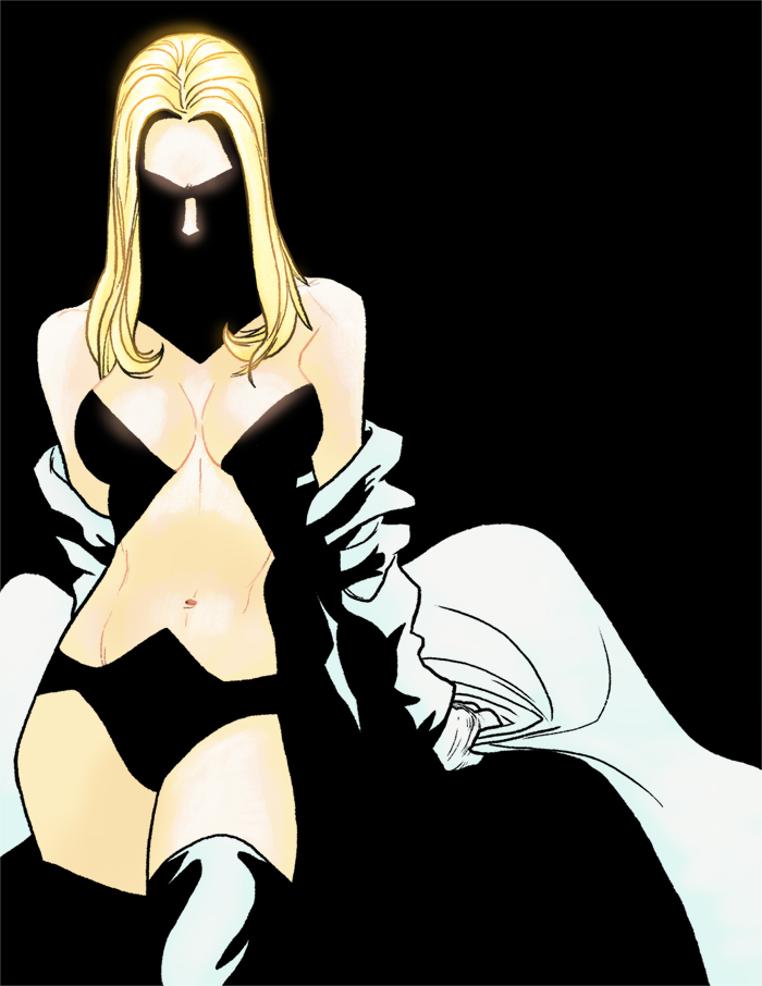E - is for Emma Frost