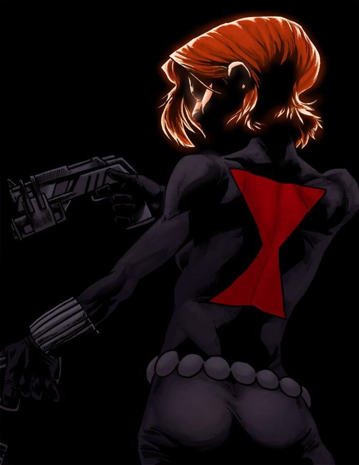 B - is for Black Widow