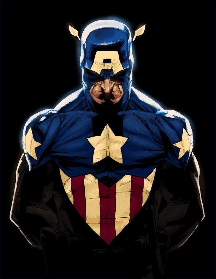 C - is for Captain America