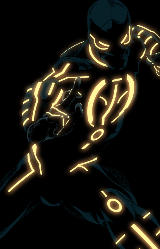 Ironfist tron by anklesnsocks