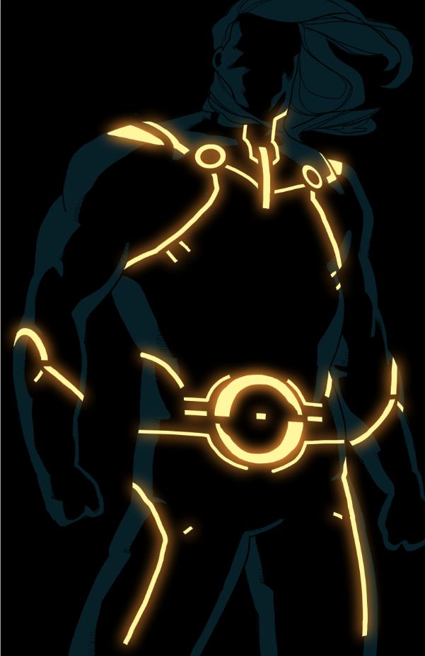 sentry tron by anklesnsocks