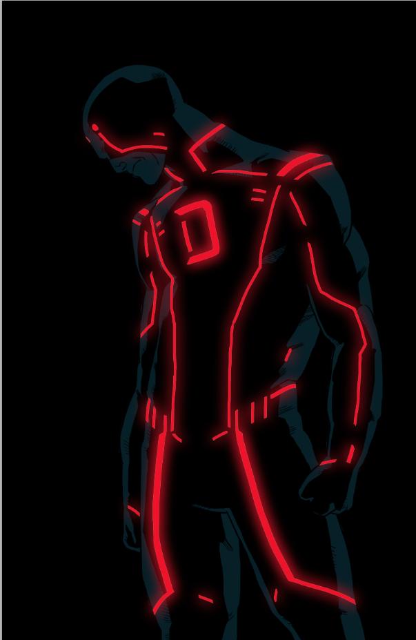 Daredevil tron by anklesnsocks