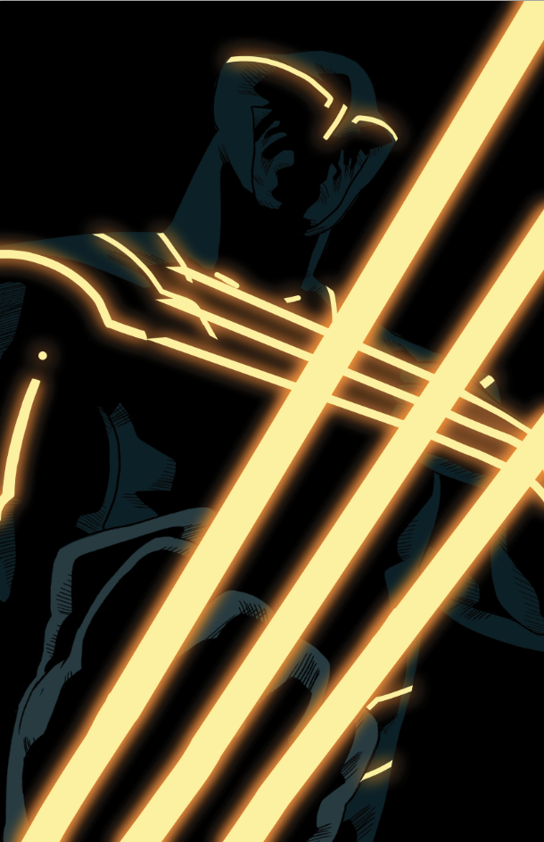 Wolverine tron by anklesnsocks