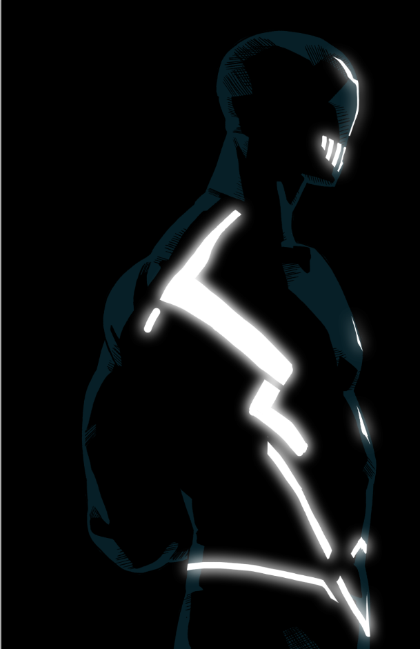 Blackbolt tron by anklesnsocks